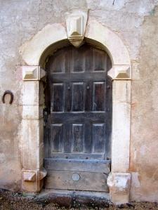 Previous entrance.