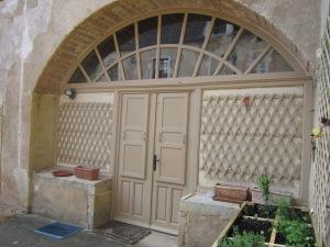 Current Entrance into Château de Balleure.
