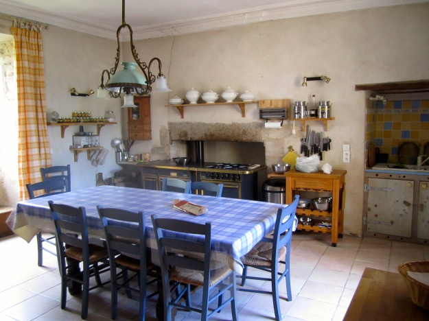 Main kitchen and homey gathering-place.