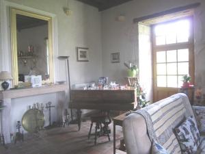 The piano corner.