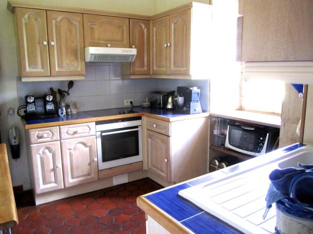Main level kitchen.