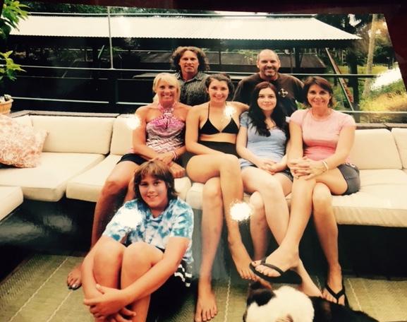 Dan & David; Kerri, Taylor, Lexi, Michelle; Quinn